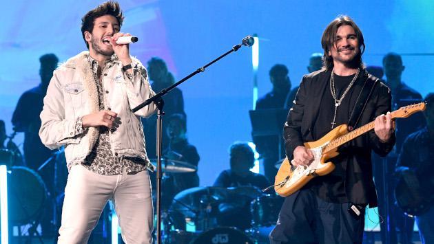 Juanes y Sebastián Yatra alcanzan la primera posición de radio de Billboard con 'Bonita'