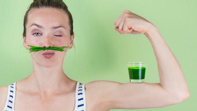 Pierde peso en cinco días consumiendo jugo verde