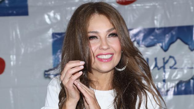 La reacción de Thalía por sus nominaciones a Premio Lo Nuestro