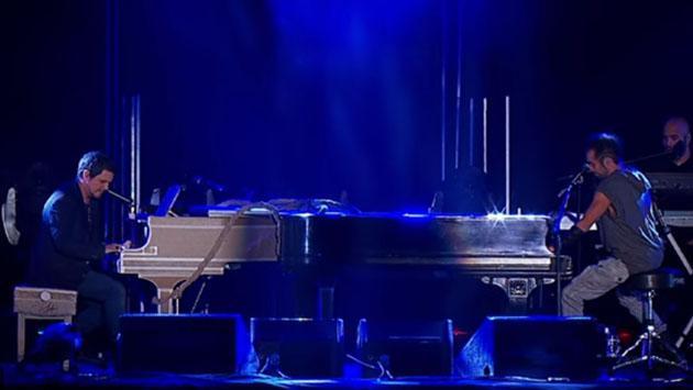 La vez en la que Alejandro Sanz cantó junto al vocalista de Camila
