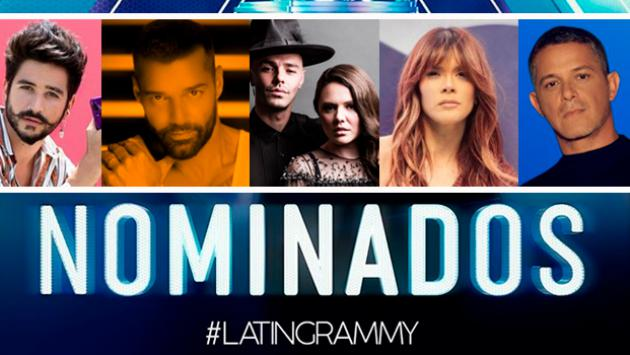 Latin Grammy 2020: Camilo, Ricky Martin, Alejandro Sanz, Jesse y Joy, Carlos Vives y muchos más entre los nominados