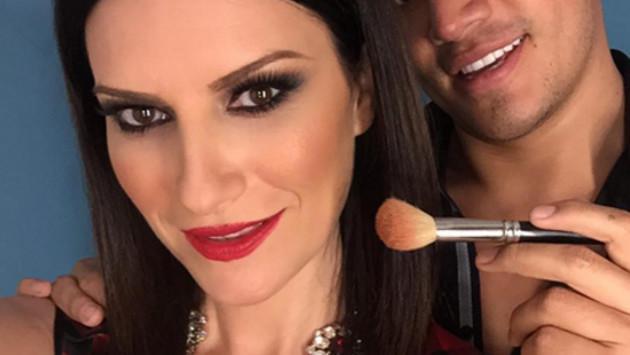 Foto de Laura Pausini sin maquillaje remece las redes sociales