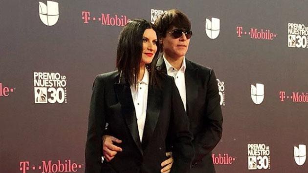 Laura Pausini celebró su aniversario con un romántico mensaje