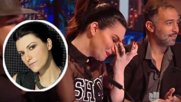 Laura Pausini lloró durante casting de 'La Banda'