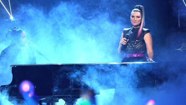 Laura Pausini conquistó al público brasileño