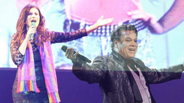 Juan Gabriel y el homenaje que recibió de Laura Pausini en concierto en Perú [VIDEO]