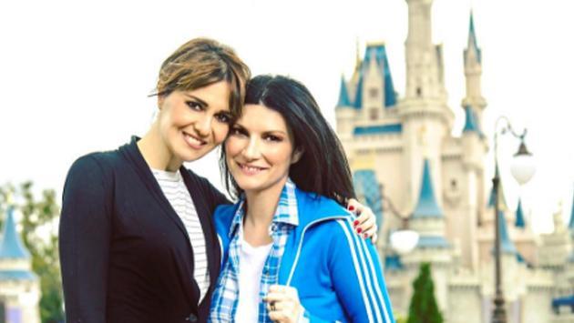 Laura Pausini y su mágica visita a Walt Disney World
