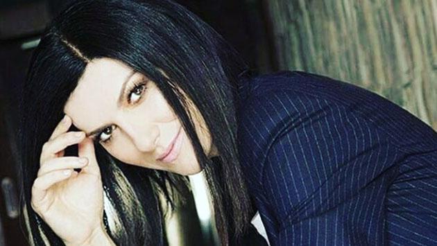 Laura Pausini y su novio trabajaron juntos en su segundo sencillo