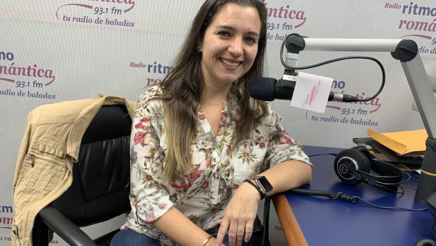 ¡Laura Reyes estuvo en 'Mujeres con Ritmo' y habló sobre su pérdida de peso!