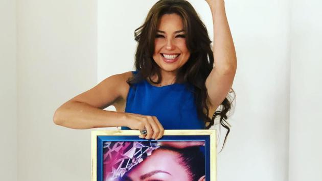 Thalía celebró los 10 millones de reproducciones de 'Lento'