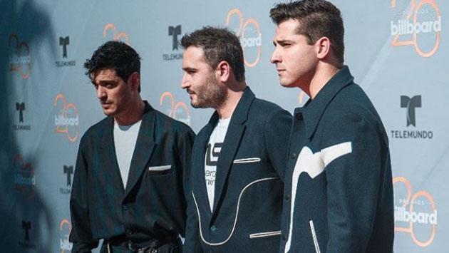 Lo mejor de la presentación de Reik en los Latin Billboard