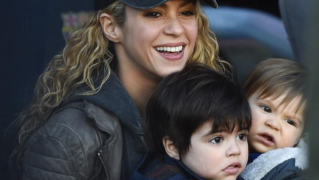 Los hijos de Shakira muestran sus dotes para este deporte