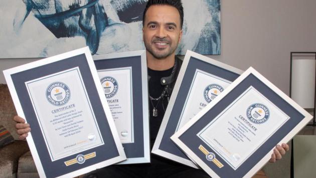 Luis Fonsi rompió 7 récords Guinness con 'Despacito'