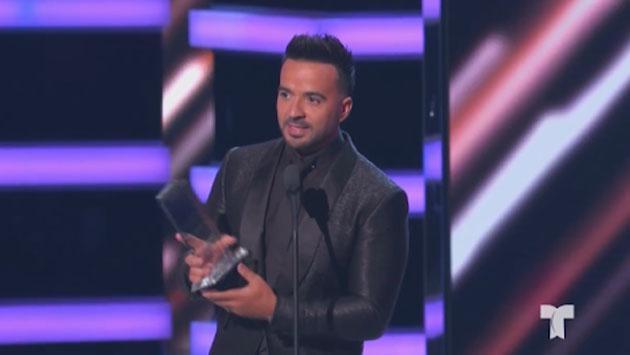 Luis Fonsi ganó premio a Artista del año masculino en los Latin Billboard