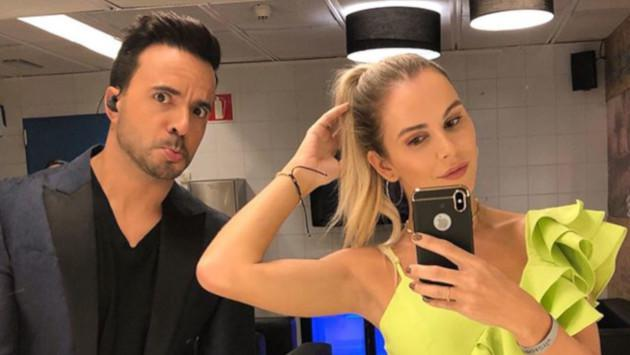 Luis Fonsi se muestra celoso por seductora foto de su esposa