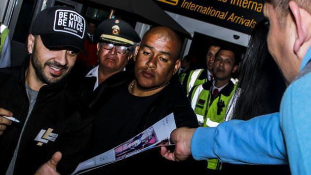 Así fue la llegada de Luis Fonsi a Lima [FOTOS]