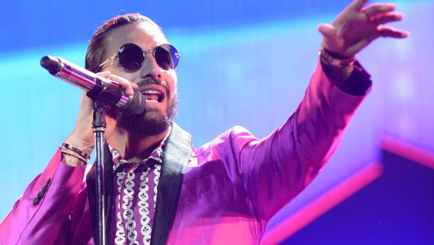 Los looks de Maluma en el Super Bowl LIII