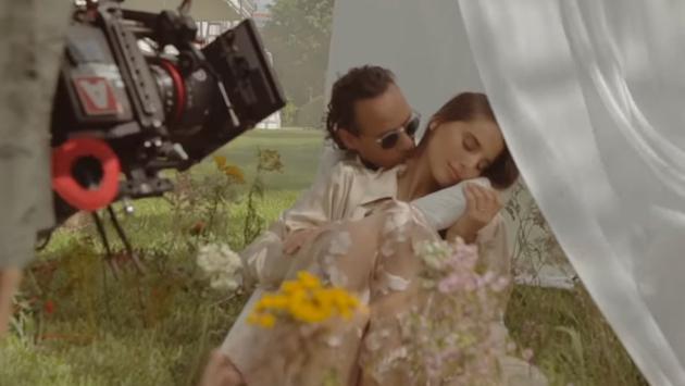 Marc Anthony estrenó el detrás de cámaras de 'Un amor eterno', su nueva balada