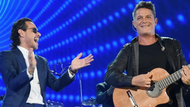 Alejandro Sanz felicitó a Marc Anthony en su cumpleaños