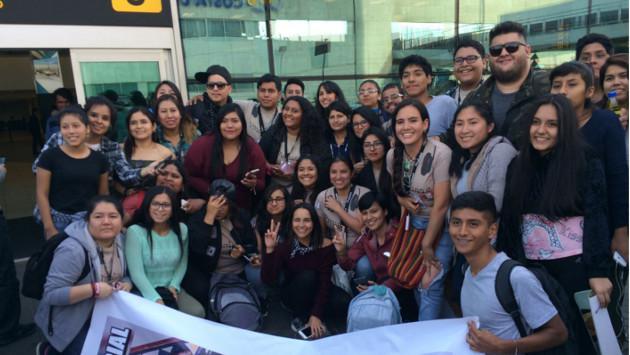 ¡Matisse llegó a Lima por primera vez!