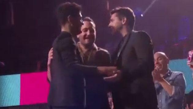 Merecido premio para Reik y 'Ya me enteré' en los Premios Juventud 2017 [VIDEO]
