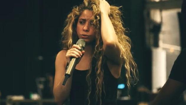 Mira cómo el hijo de Shakira ensaya para 'El Dorado World Tour'