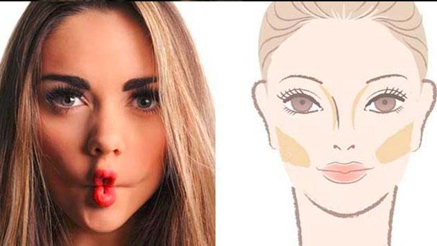 Mira cómo hacer que tu rostro se vea delgado. ¡Y sin cirugías!