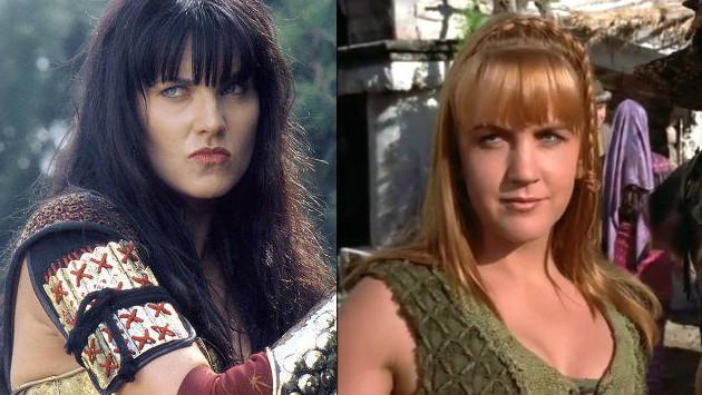 Mira cómo lucen las protagonistas de  'Xena la princesa guerrera' 20 años después