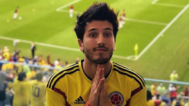 Mira cómo Sebastián Yatra celebró la clasificación de Colombia