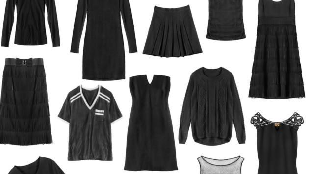 Mitos de vestirse de negro