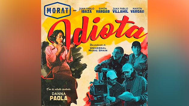 Morat y Danna Paola, la colaboración que estábamos esperando, llegan con 'Idiota'