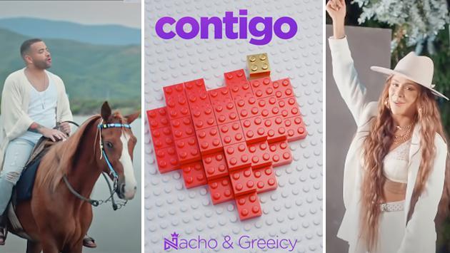 Greeicy estrenó 'Contigo' a dúo con Nacho