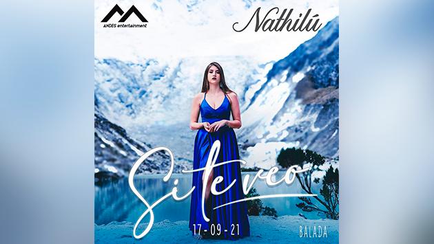 Nathilu: La exponente romántica del Género Urbano presenta 'Si te veo' versión balada