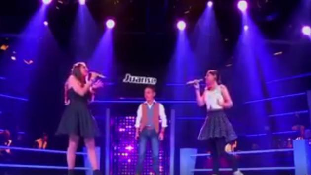 Niños sorprenden a jurado interpretando 'Hoy tengo ganas de ti'