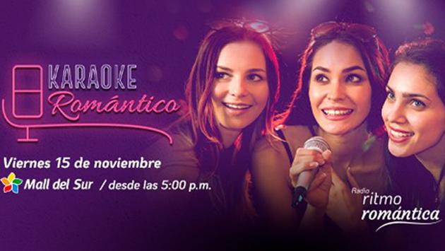 ¡No te olvides que este viernes es nuestro Karaoke Romántico!
