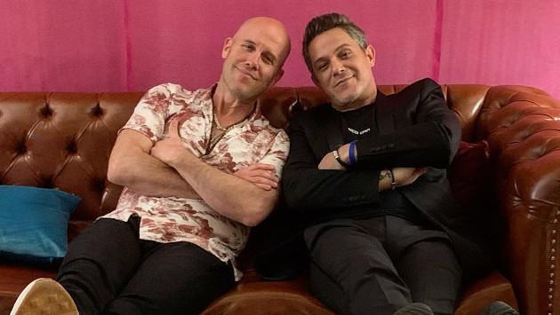 ¡Nuevamente juntos! GianMarco y Alejandro Sanz se volvieron a reencontrar en Lima