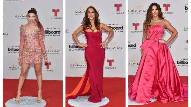 Mira los mejores outfits de los Premios Latin Billboard
