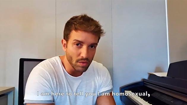 Pablo Alborán confiesa que es homosexual: 'Yo necesito ser un poquito más feliz de lo que ya era'.
