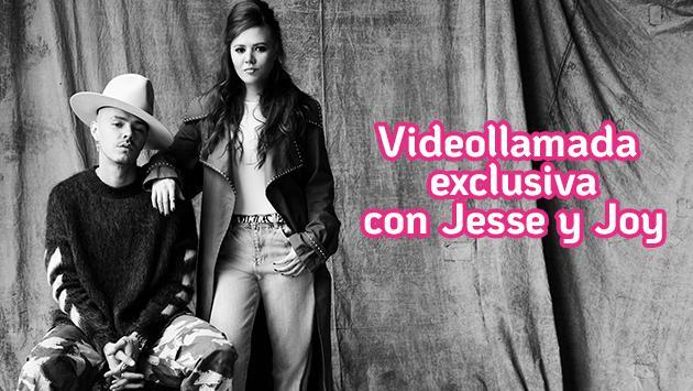 ¡Participa por una videollamada exclusiva con Jesse y Joy!