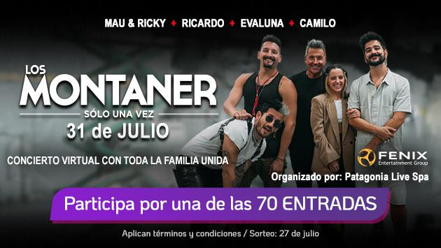 Participa y podrás ganar entradas para 'Los Montaner, solo una vez'