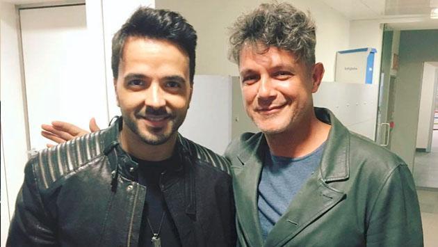 ¿Qué andan haciendo Luis Fonsi y Alejandro Sanz juntos?
