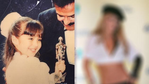 ¿Reconoces quién es esta niña que hoy es una reconocida actriz y cantante?