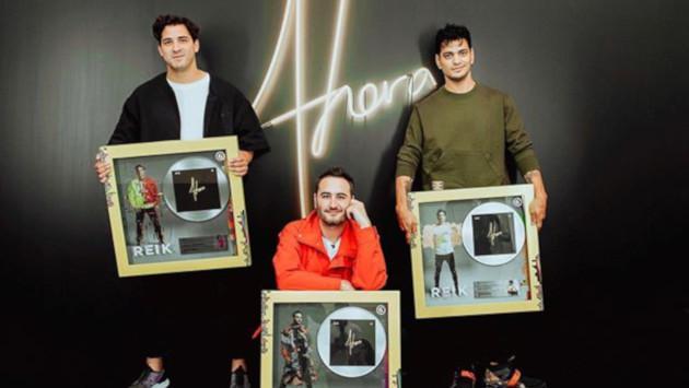 Reik recibe Disco de Platino por su álbum 'Ahora'