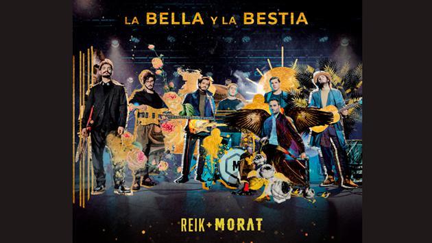 Reik y Morat lanzan sencillo 'La Bella y la Bestia'