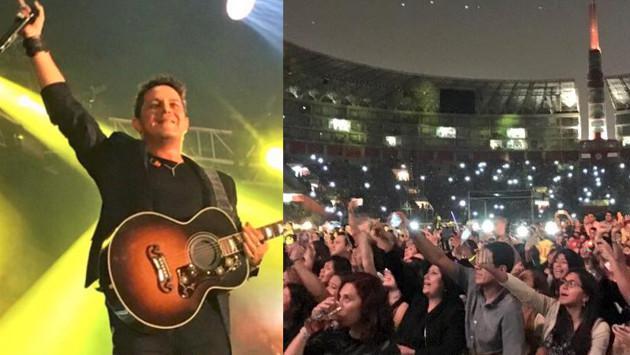 Revive con los fanáticos de Alejandro Sanz su espectacular concierto en Lima