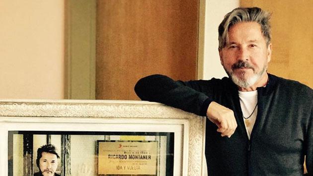 """Ricardo Montaner: """"Soy fanático del amor, del romanticismo y la cursilería"""""""