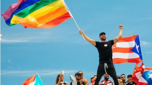 Ricky Martin celebra el triunfo civil de su país