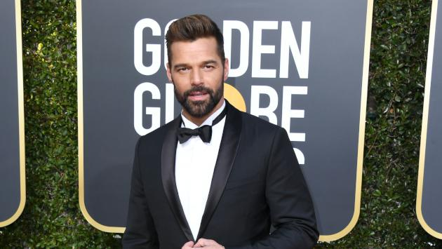 Así celebró Ricky Martin el triunfo en los Golden Globes de la serie 'The Assassination Of Gianni Versace'