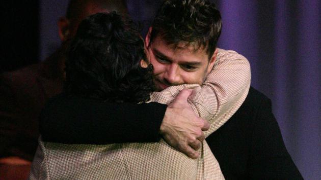 Ricky Martin recordó cuando conoció a Marc Anthony