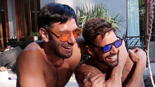 Ricky Martin y su pareja derrochan amor durante el verano norteamericano